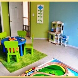 Girl Playroom Paint Ideas