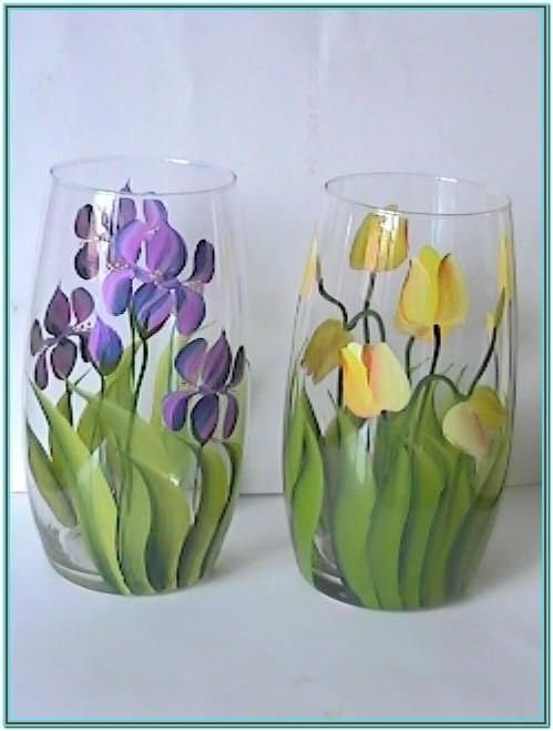 Glass Bowl Painting Ideas