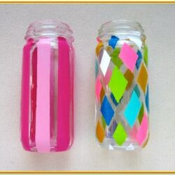 Glass Jar Painting Ideas