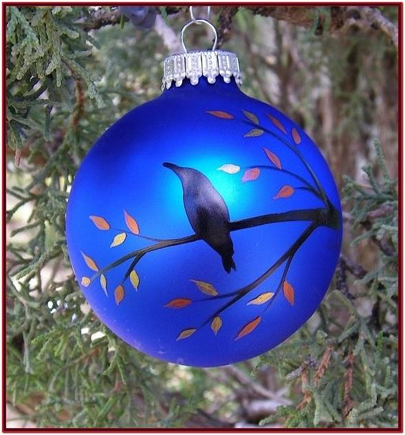 Glass Ornament Painting Ideas