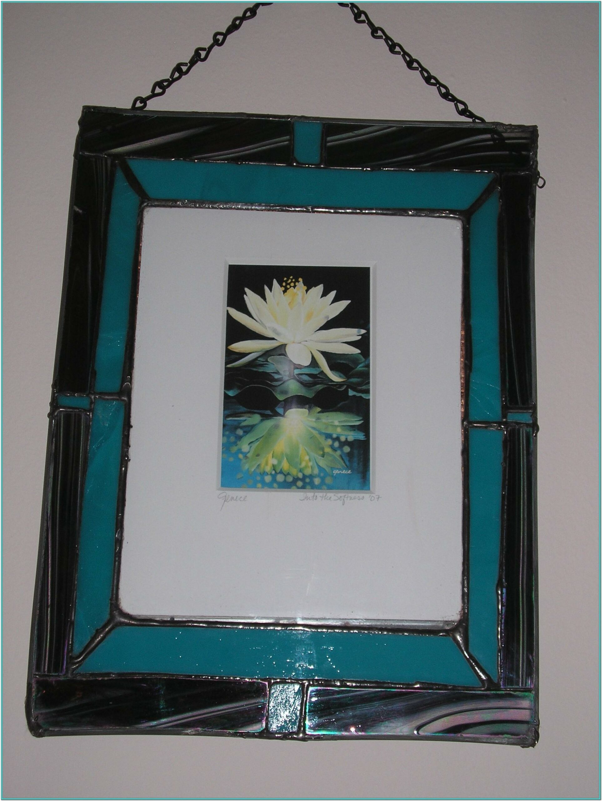Glass Painting Frame Ideas