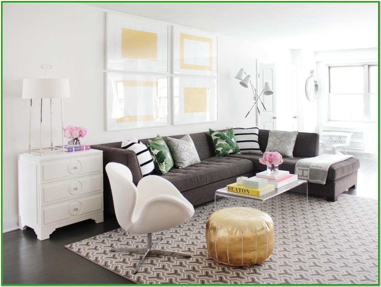 Gray Sectional Living Room Decor Ideas