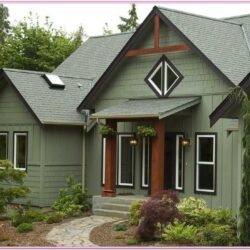 Green Exterior House Paint Ideas