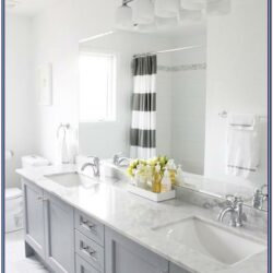 Grey And White Bathroom Paint Ideas