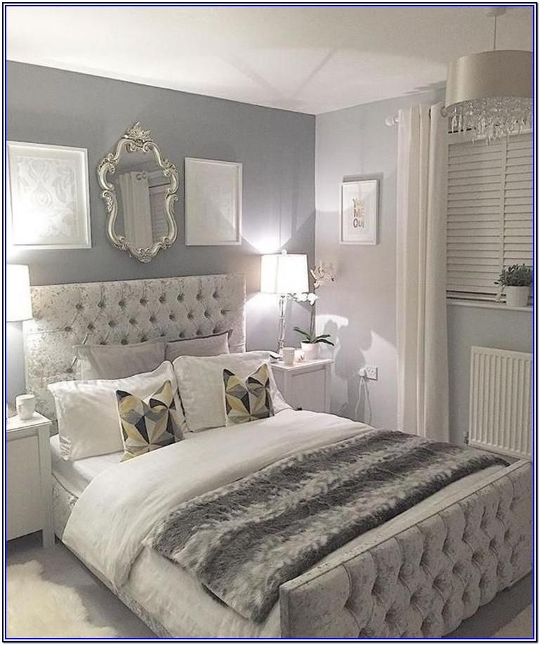 Grey And White Bedroom Paint Ideas