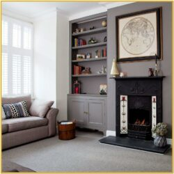 Grey And White Living Room Paint Ideas