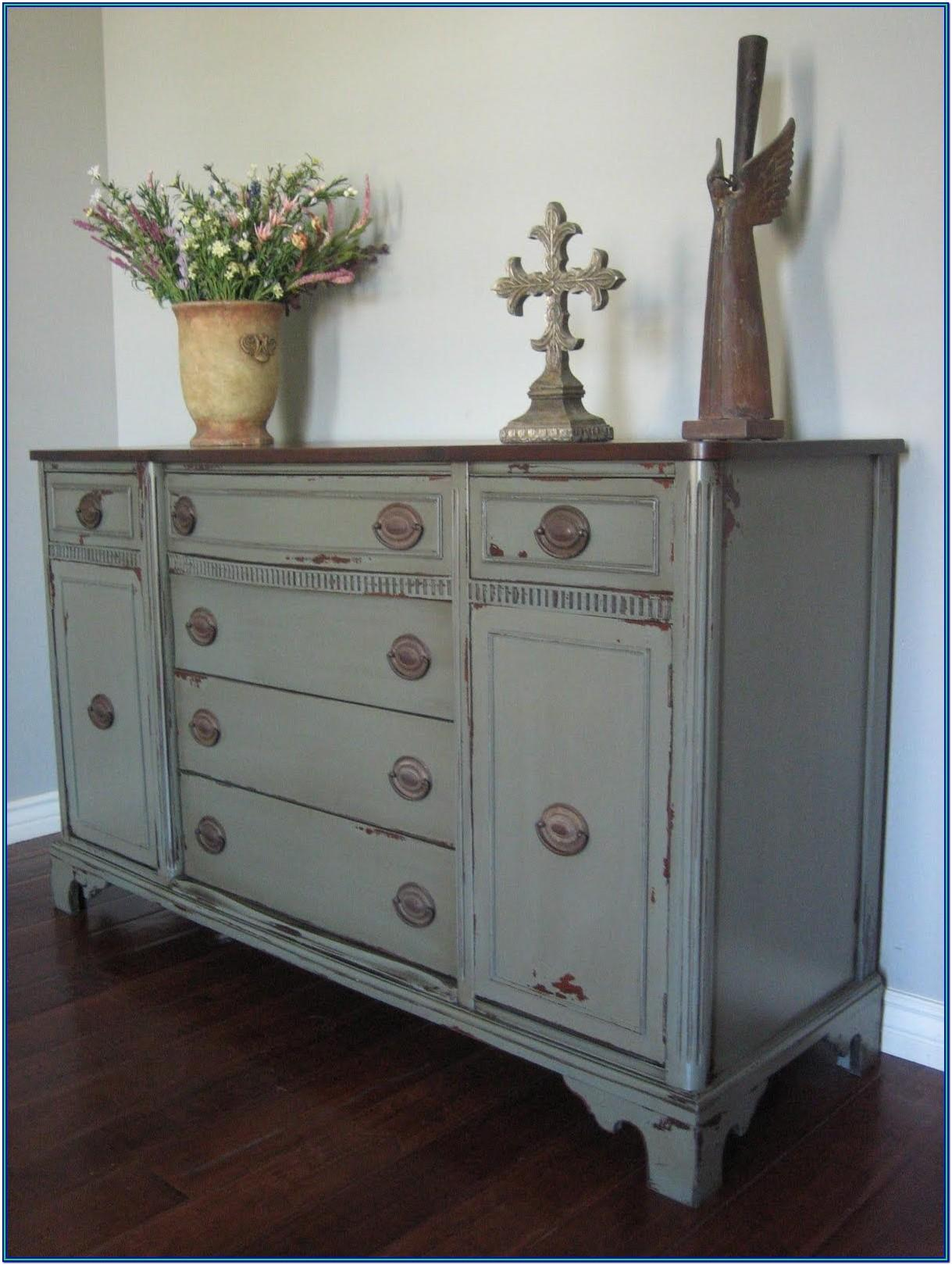 Grey Chalk Paint Furniture Ideas