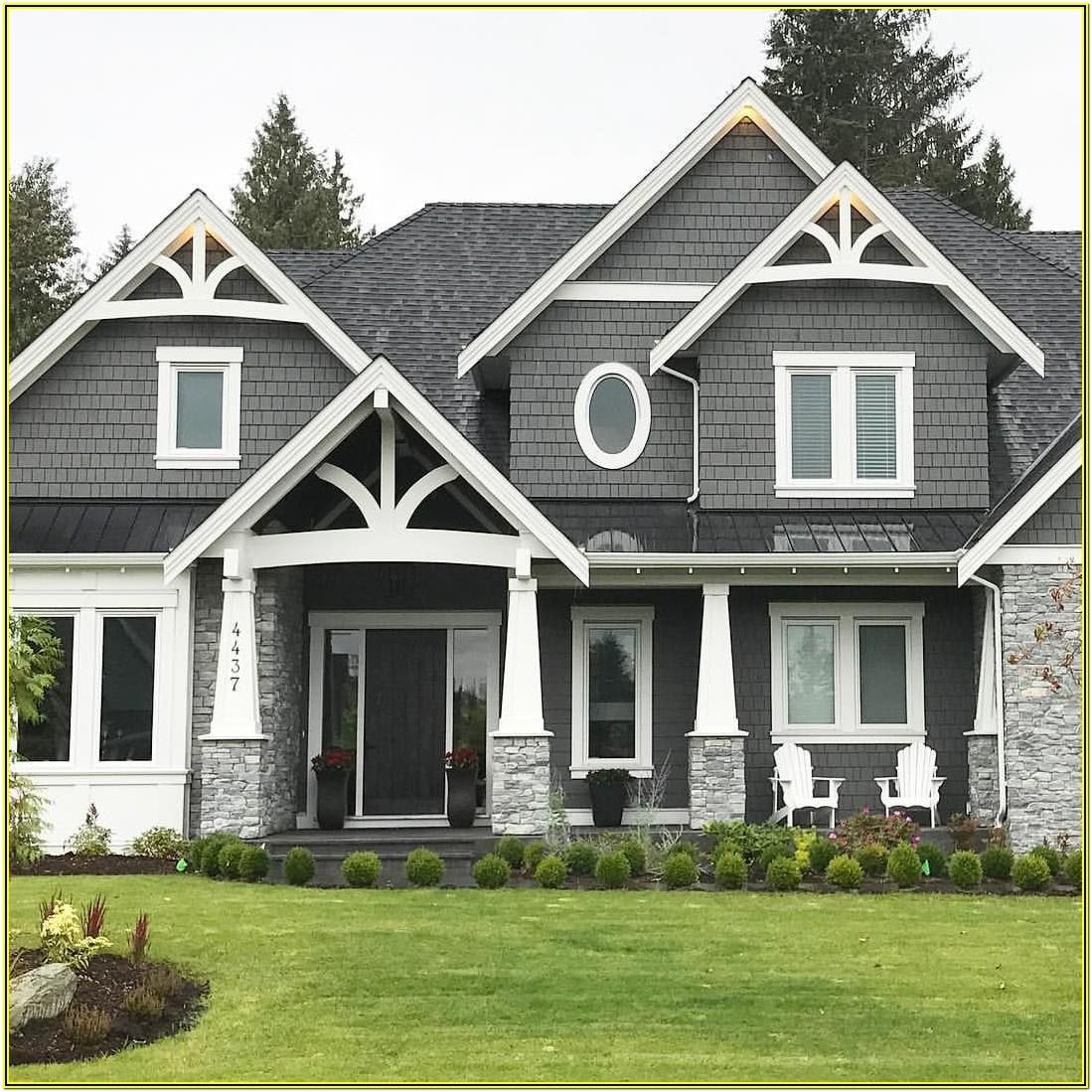 Grey House Color Schemes Exterior