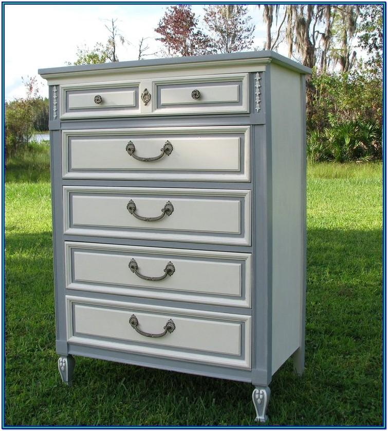 Grey Painted Dresser Ideas