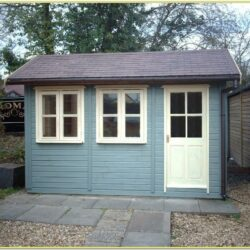 Grey Shed Paint Ideas