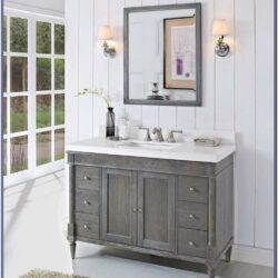 Grey Vanity Bathroom Paint Ideas