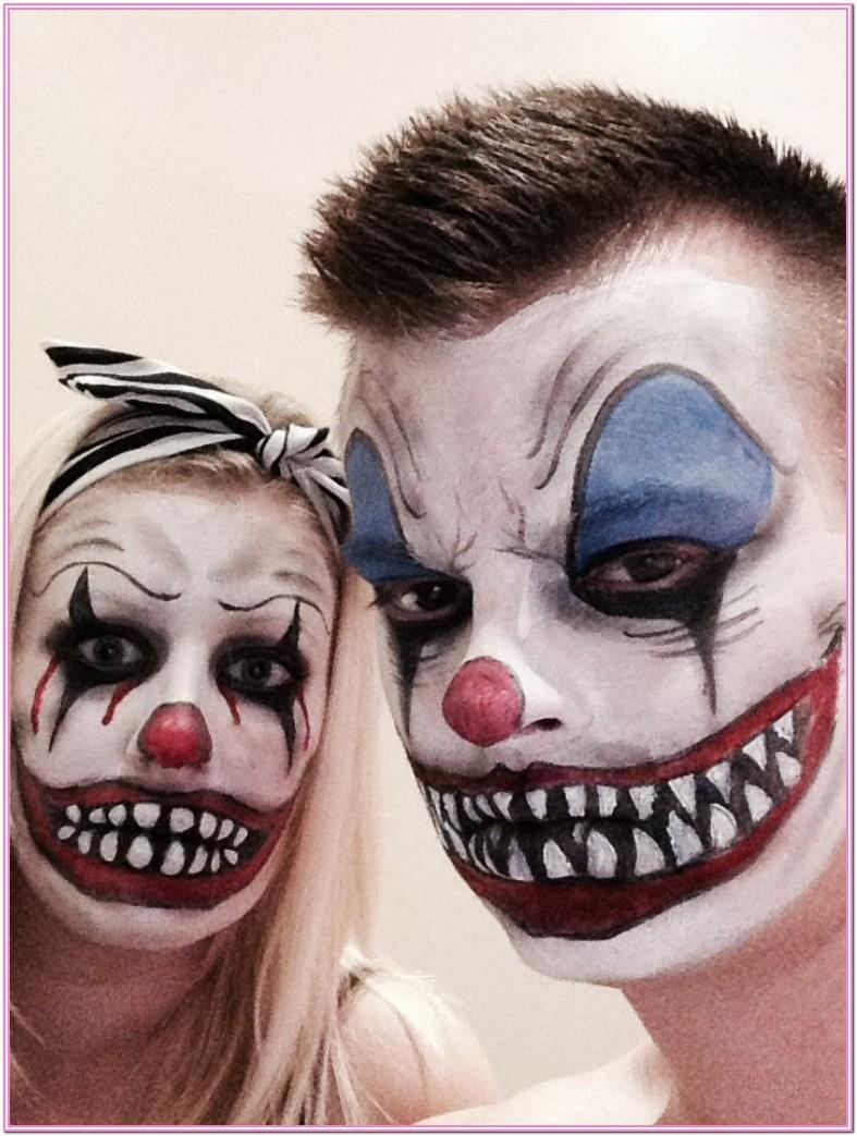 Halloween Face Paint Ideas Clown