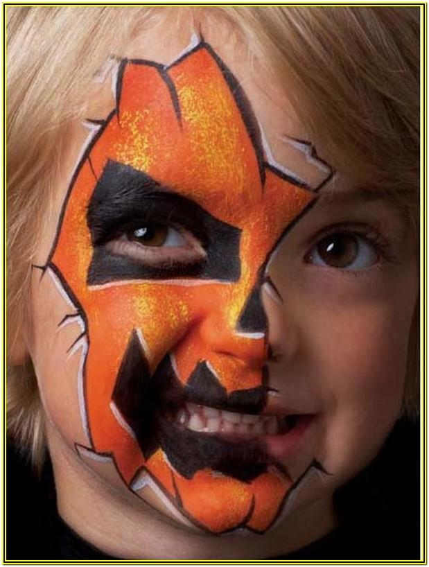 Halloween Face Paint Ideas For Child