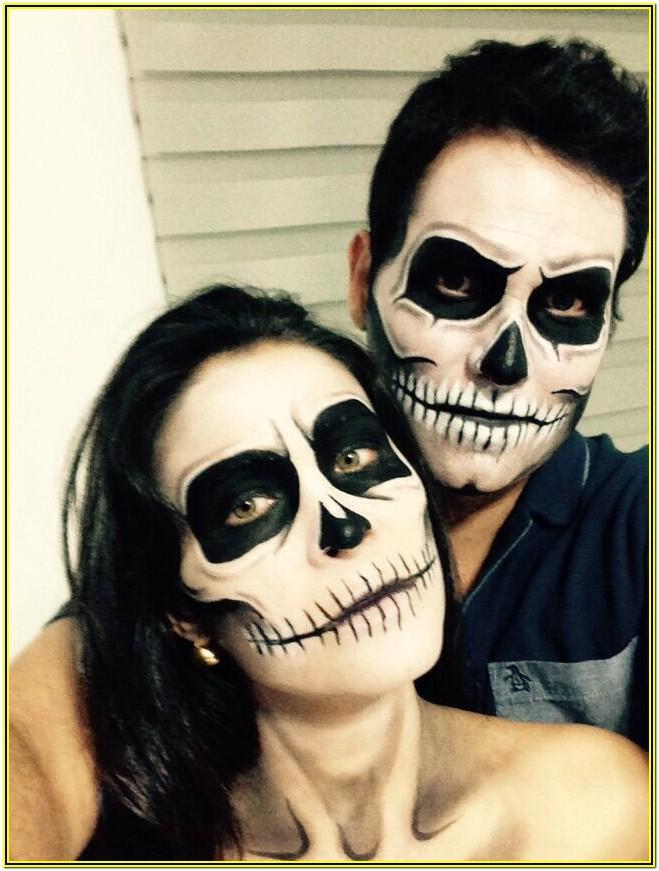 Halloween Face Paint Ideas For Couples