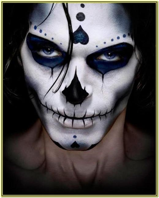 Halloween Face Paint Ideas For Guys With Beards