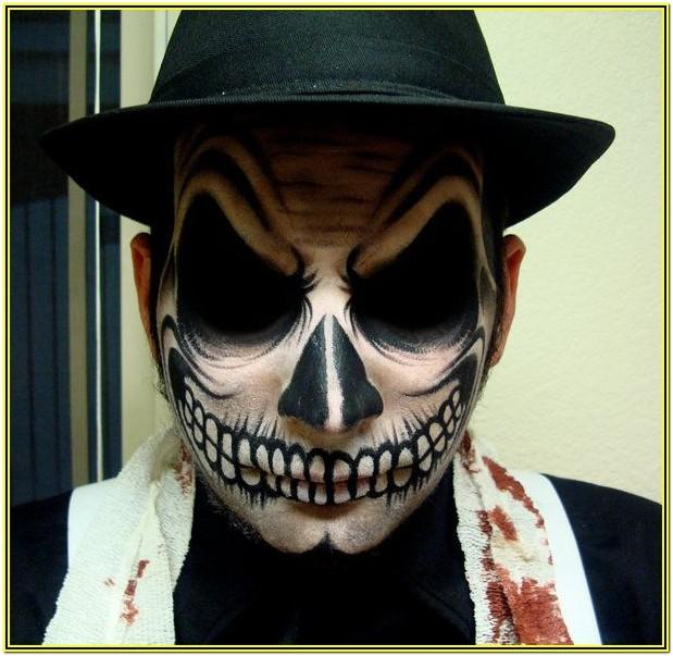 Halloween Face Paint Ideas For Guys