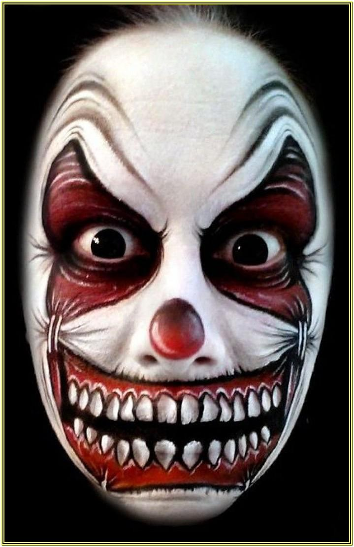 Halloween Face Paint Ideas Scary