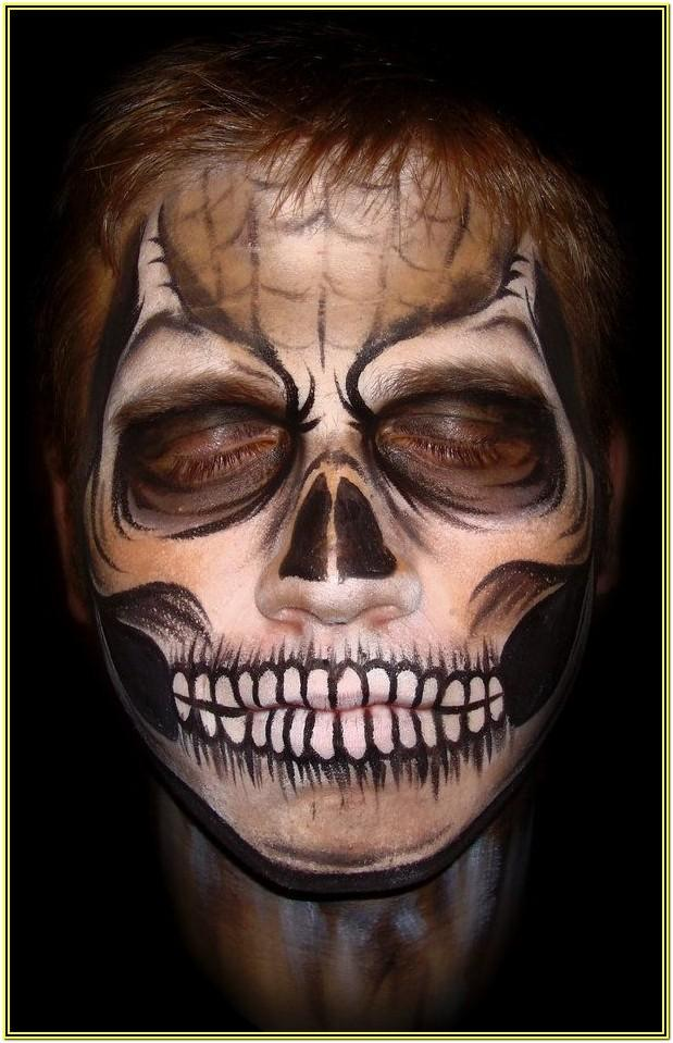 Halloween Face Paint Ideas With Beard