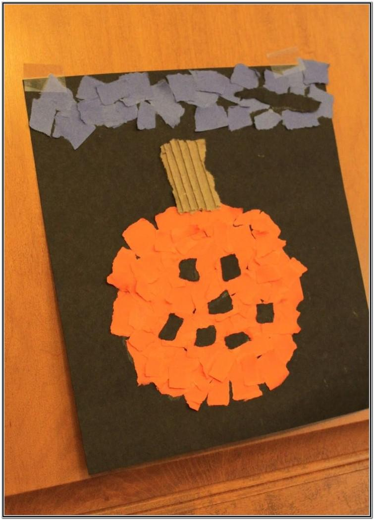 Halloween Painting Ideas Preschool