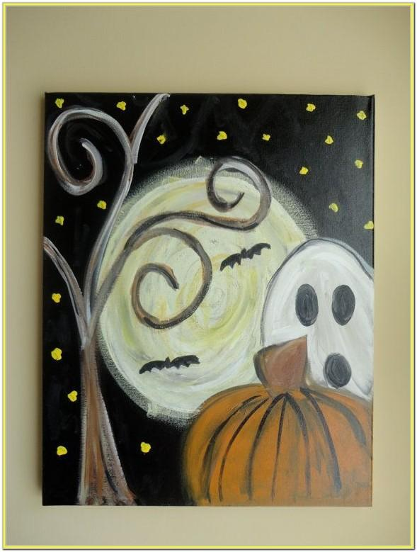 Halloween Painting Picture Ideas