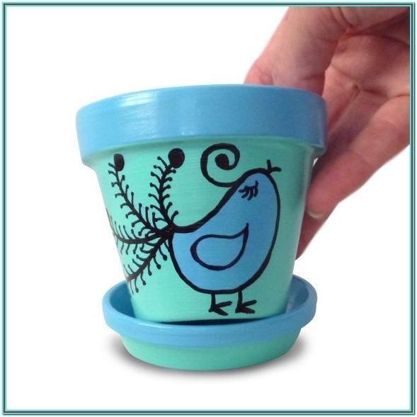 Hand Painted Clay Pot Ideas