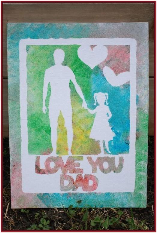 Hand Painting Ideas For Father's Day
