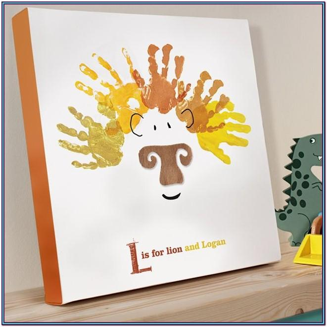Handprint Canvas Ideas