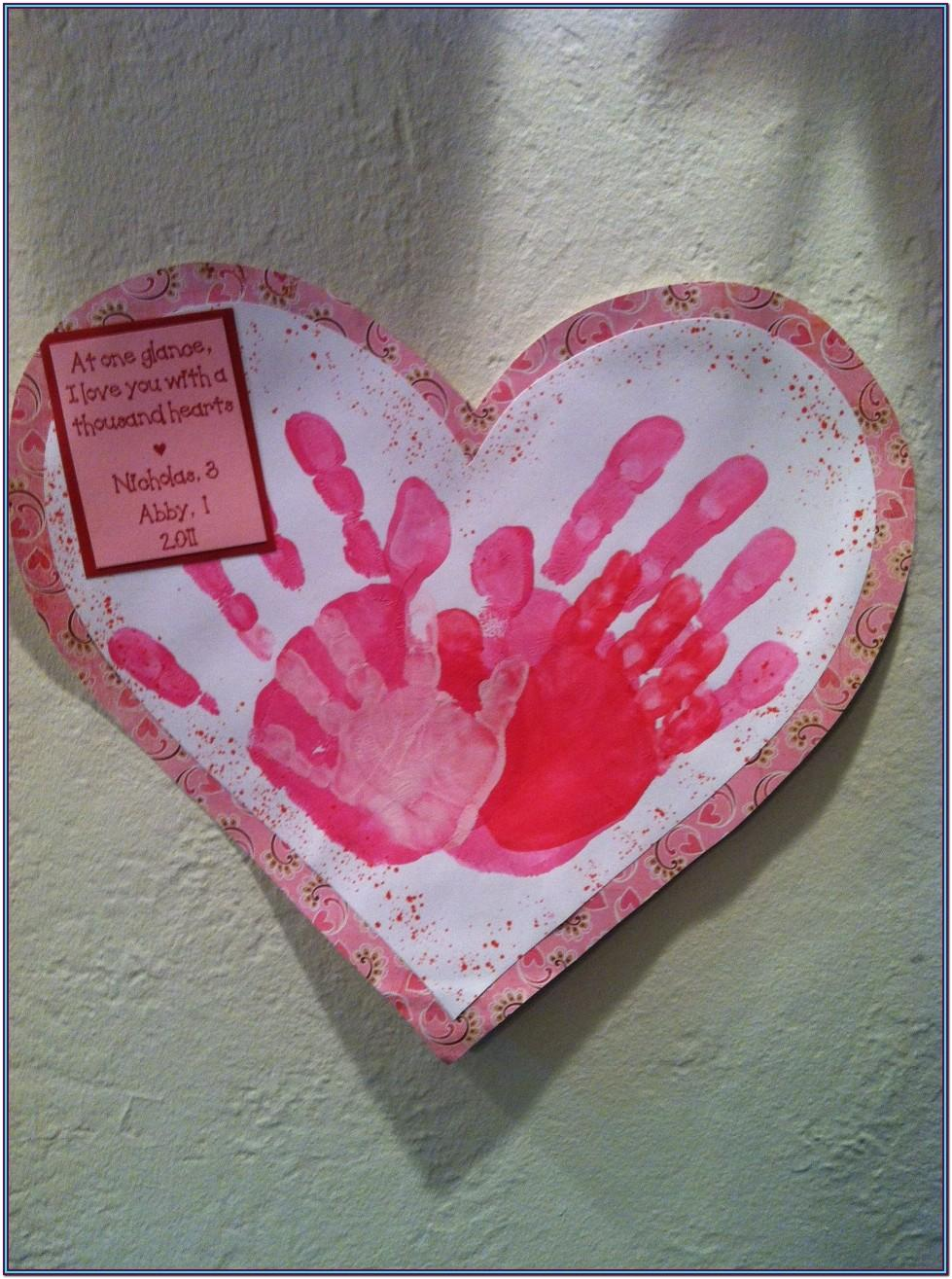 Handprint Craft Ideas For Valentines Day