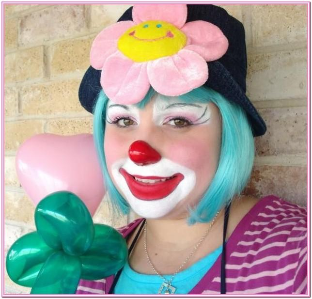 Happy Clown Face Paint Ideas