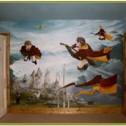Harry Potter Wall Painting Ideas