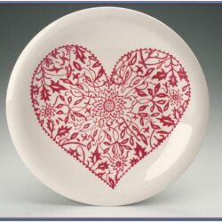 Heart Plate Painting Ideas