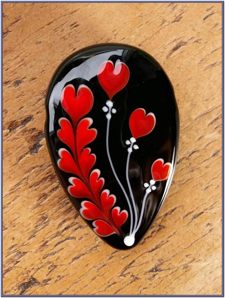 Heart Rock Painting Ideas
