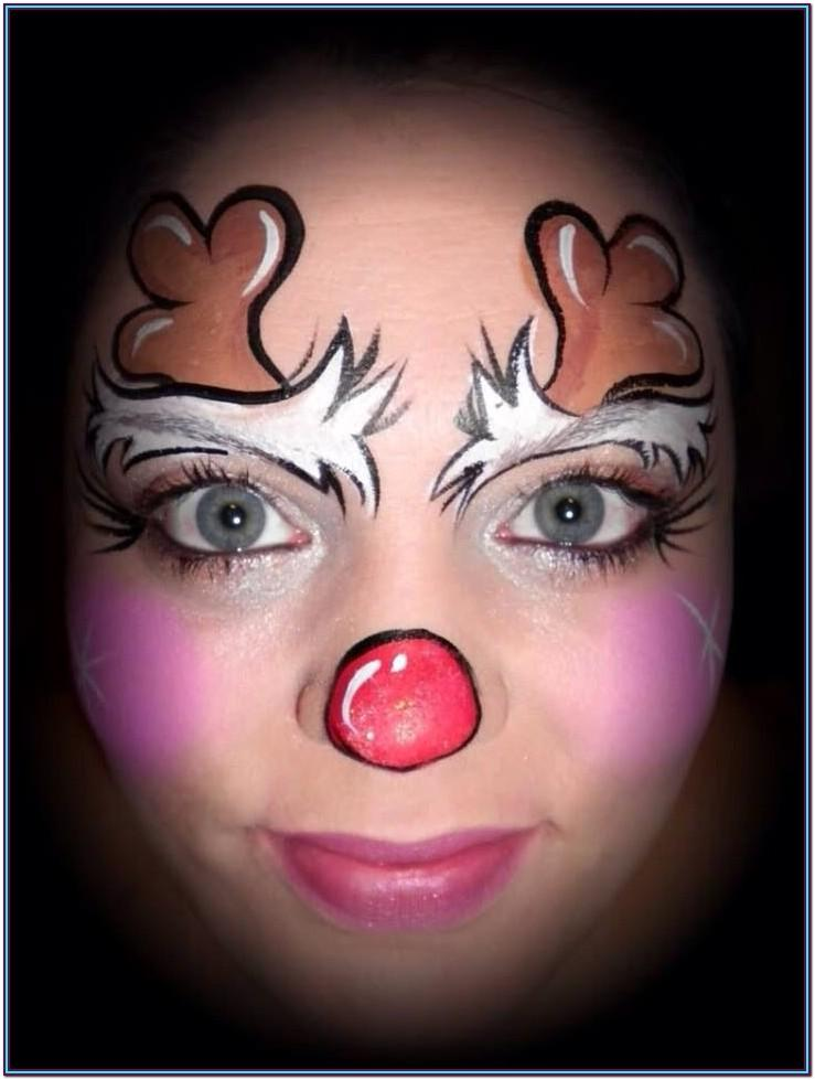 Holiday Face Painting Ideas