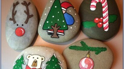 Holiday Rock Painting Ideas
