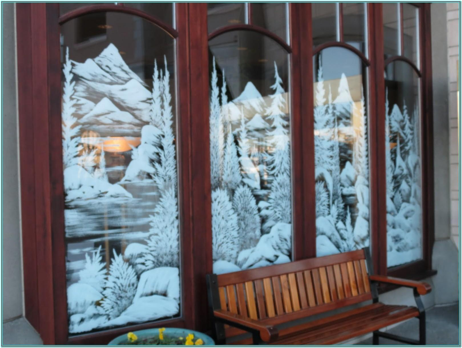 Holiday Window Painting Ideas
