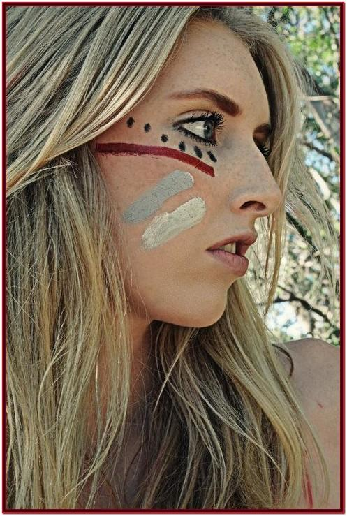 Homecoming Football Face Paint Ideas