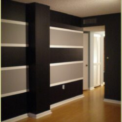 Horizontal Striped Wall Paint Ideas