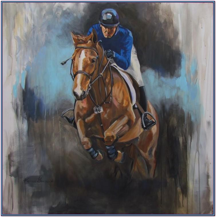 Horse Jump Painting Ideas