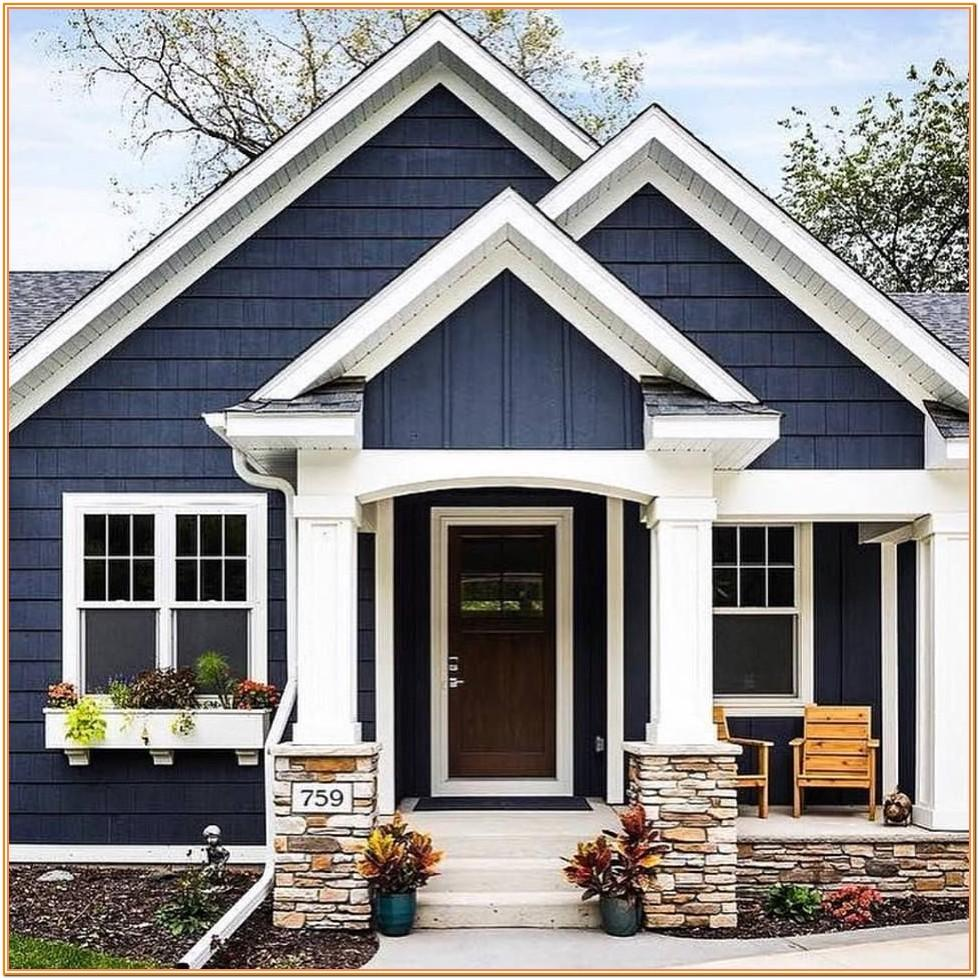 House Exterior Color Schemes 2019