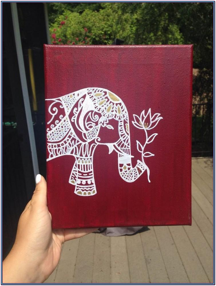 ideas of what to paint on a canvas