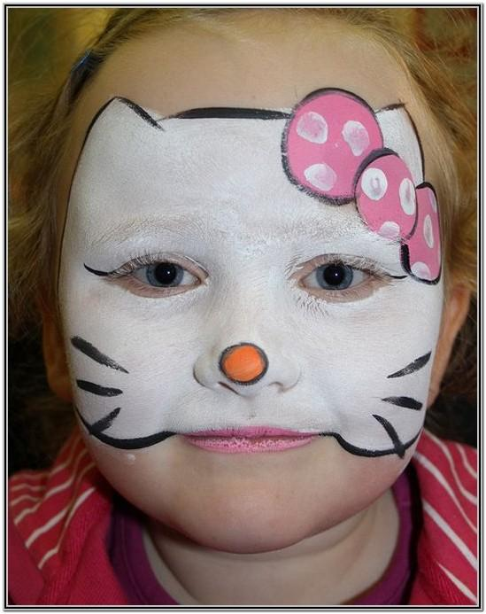 Kid Face Painting Ideas For Halloween