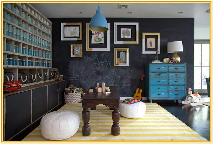 Kid Playroom Paint Ideas