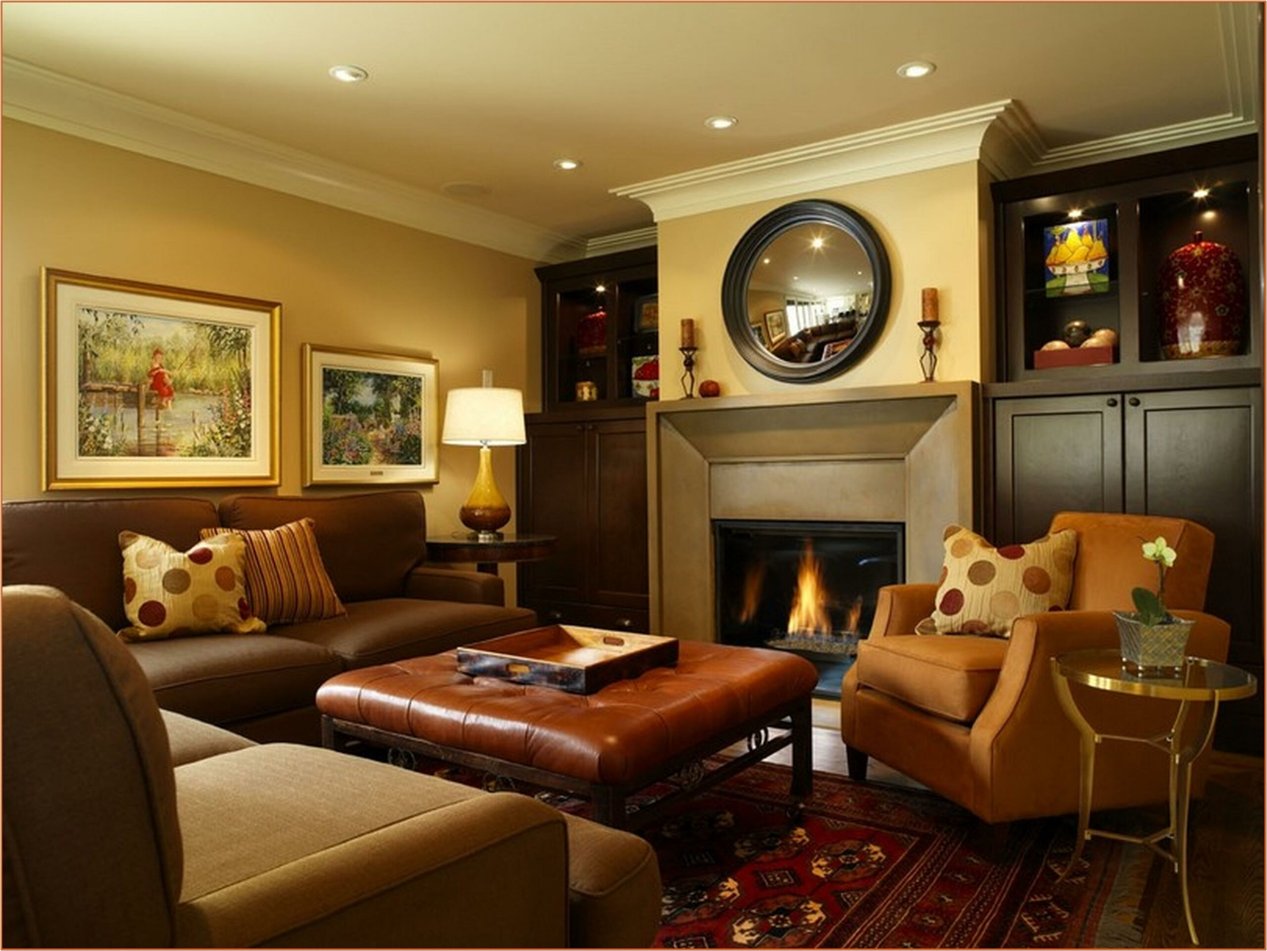 Kitchen And Family Room Paint Ideas