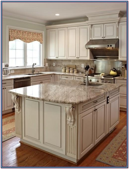Kitchen Paint Color With Antique White Cabinets
