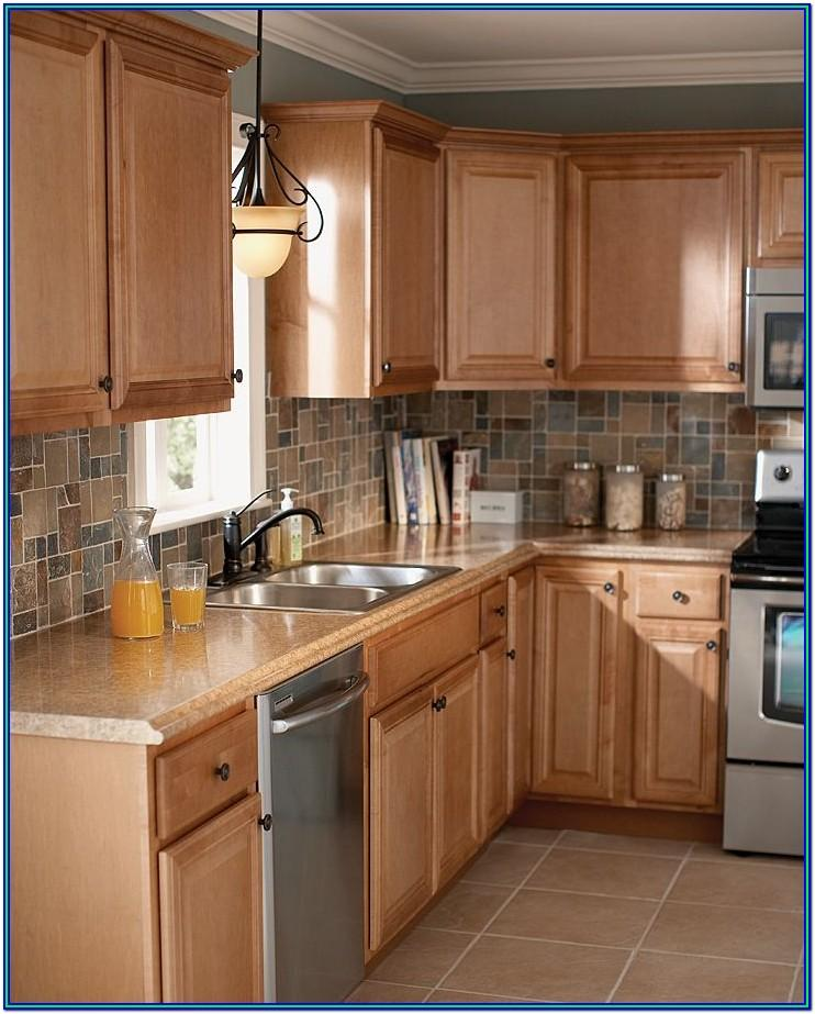 kitchen paint ideas with brown cabinets