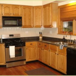 Kitchen Wall Paint Ideas With Oak Cabinets