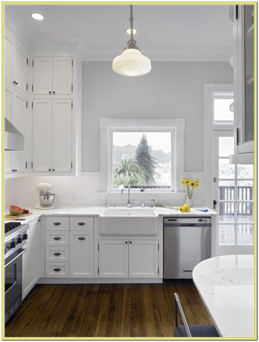 Kitchen Wall Paint Ideas With White Cabinets