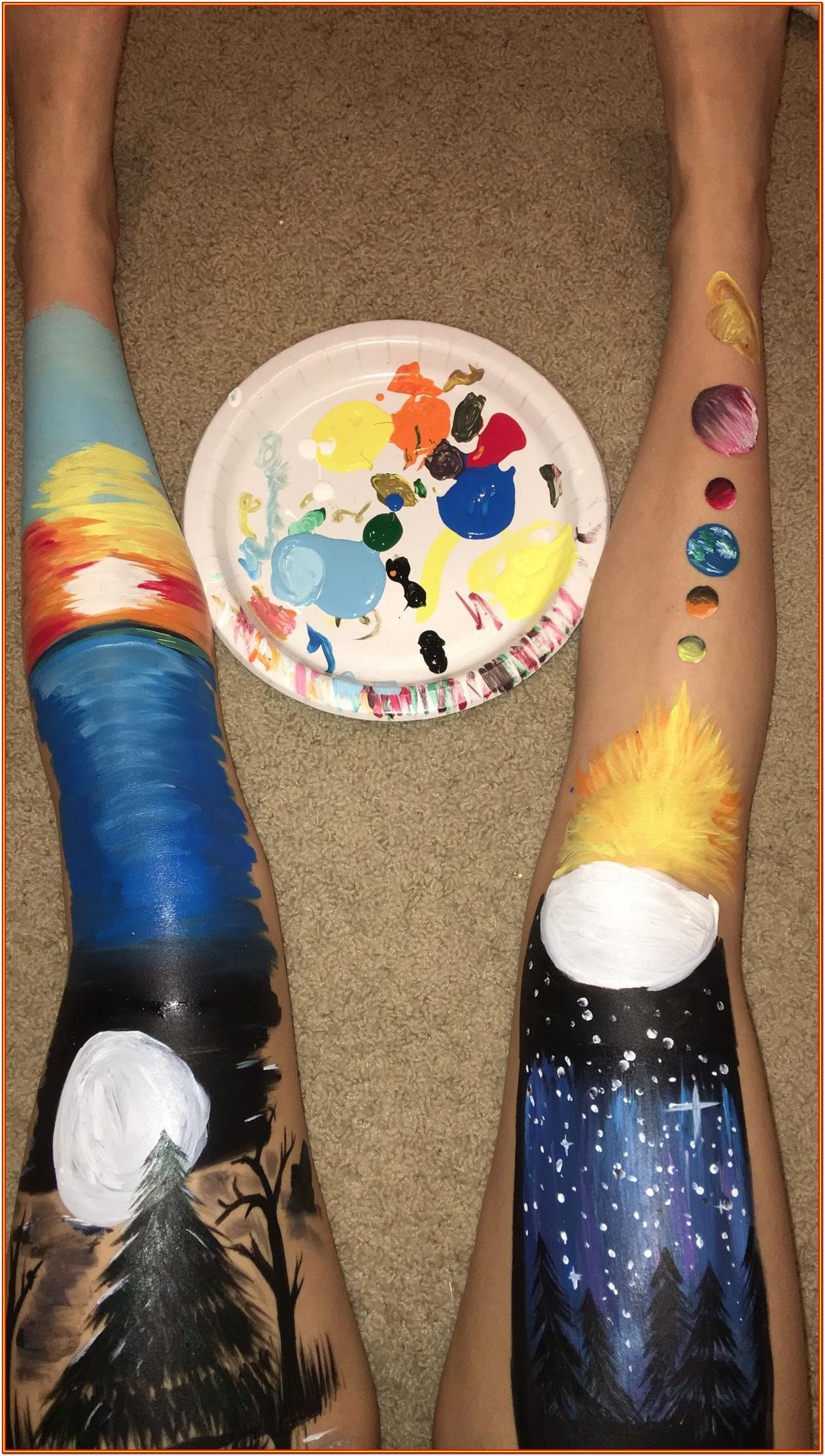 leg painting ideas tumblr