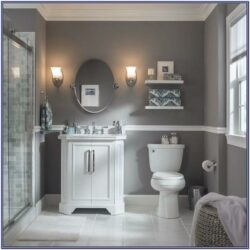 Light Grey Bathroom Paint Ideas