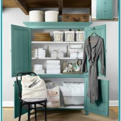 Linen Closet Paint Ideas